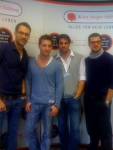 Alexander Mazza, Dirk Moritz, Carsten Spengemann und Tobias Licht